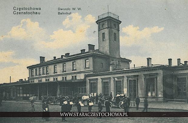 Częstochowa, dworzec kolejowy
