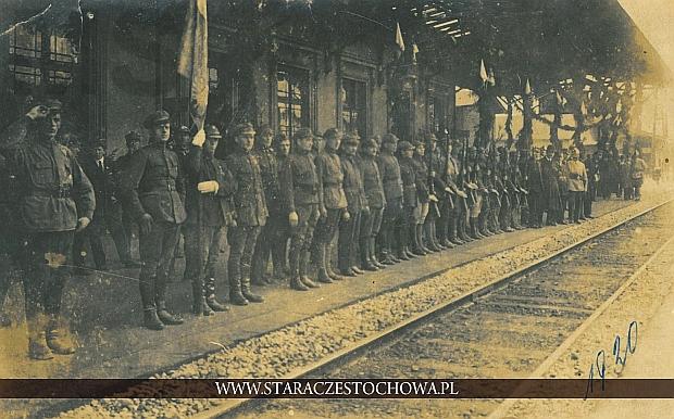 Czenstochau, Związek Strzelecki lata 20-te, dworzec PKP