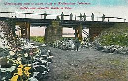 Zrujnowany most