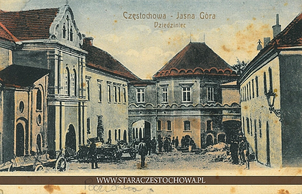 Jasna Góra, dziedziniec
