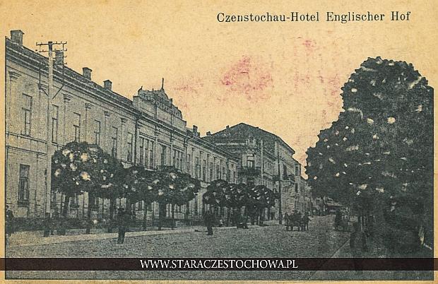 Hotel Angielski w Częstochowie, Czenstochau - Hotel Englischer Hof