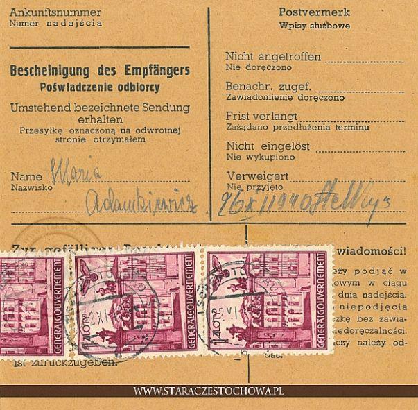 Niemiecka karta pocztowa