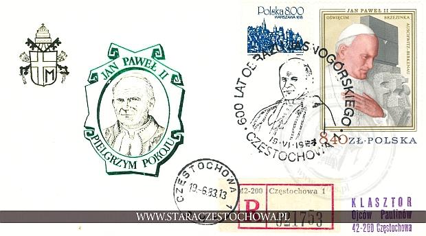Koperta pocztowa, list polecony nr: 021753
