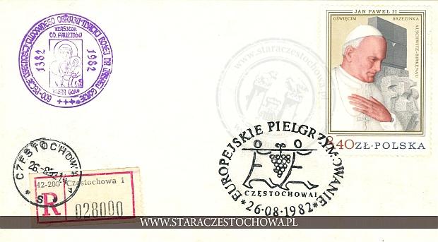 Koperta pocztowa, list polecony nr: 028000