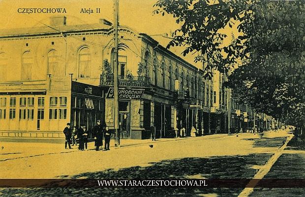 Częstochowa, Aleja II Dom Kohna (Dom Bata)