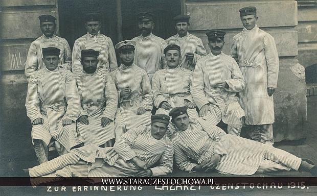 Czenstochau 1915, zur Errinnerung Lazaret