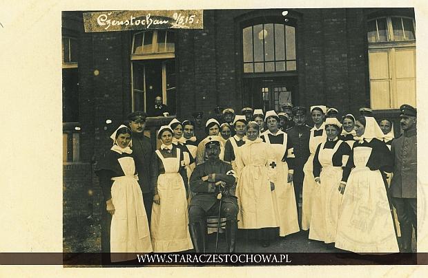 Pielęgniarki w czasie I wojny światowej