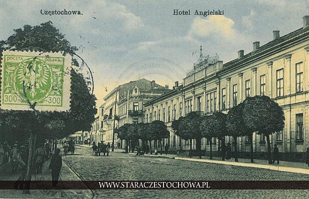 Hotel Angielski przy ul. Dojazd