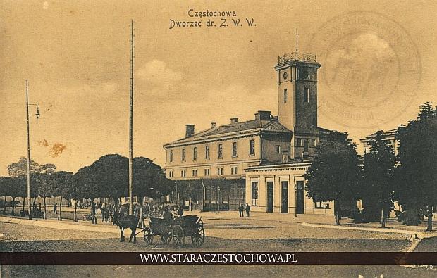 Dworzec kolei warszawsko-wiedeńskiej w Częstochowie