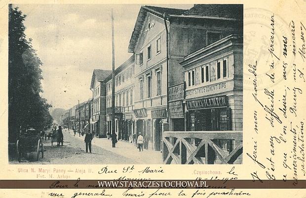 Aleja II, ulica Najświętszej Maryi Panny, długi adres