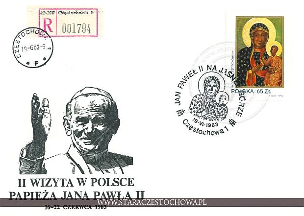 Koperta pocztowa, list polecony nr: 001794