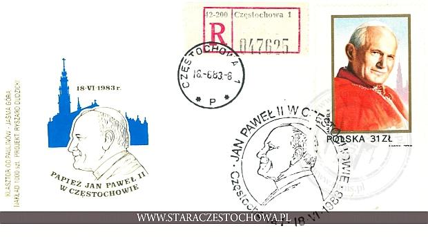 Koperta pocztowa, list priorytetowy nr: 047625