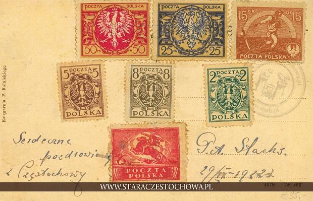 Karta pocztowa z 1932 roku x