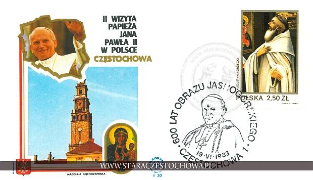 Koperta pocztowa, Jan Paweł II