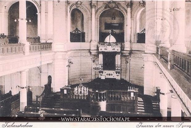 Wnętrze Nowej Synagogi w Częstochowie