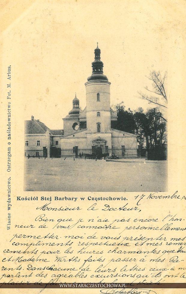 Kościół św. Barbary, M. Arbus, długi adres