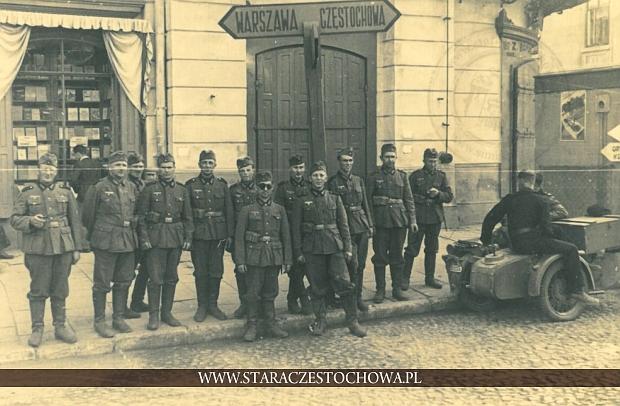 Częstochowa, żołnierze II wojna światowa