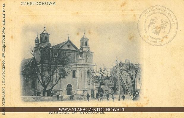 Częstochowa, kościół św. Zygmunta, długi adres