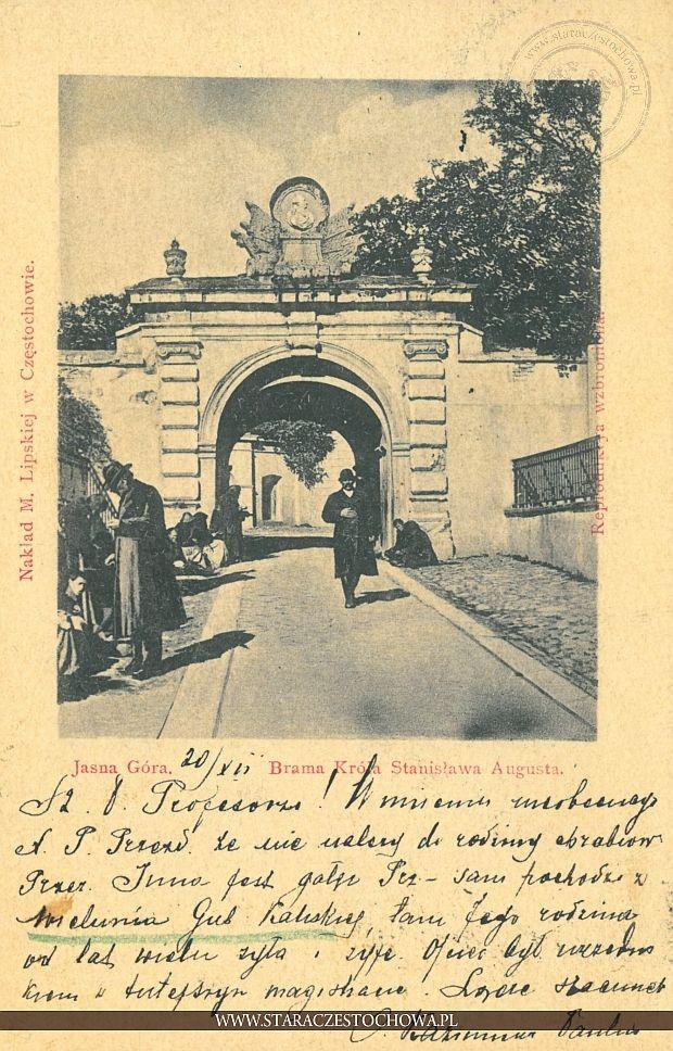 Brama króla Stanisława Augusta, Jasna Góra, długi adres
