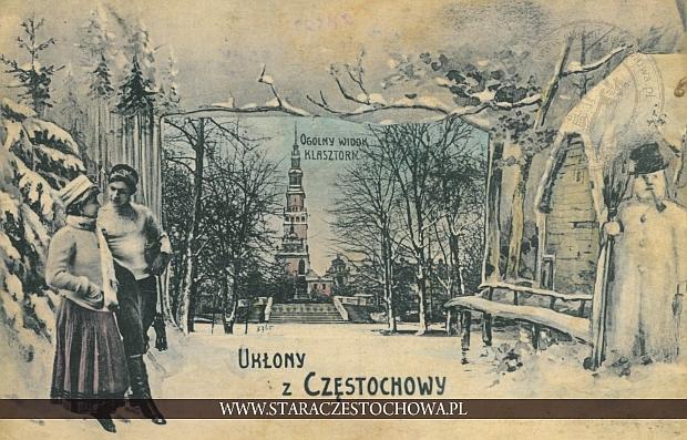 Ukłony z Częstochowy, ogólny widok klasztoru