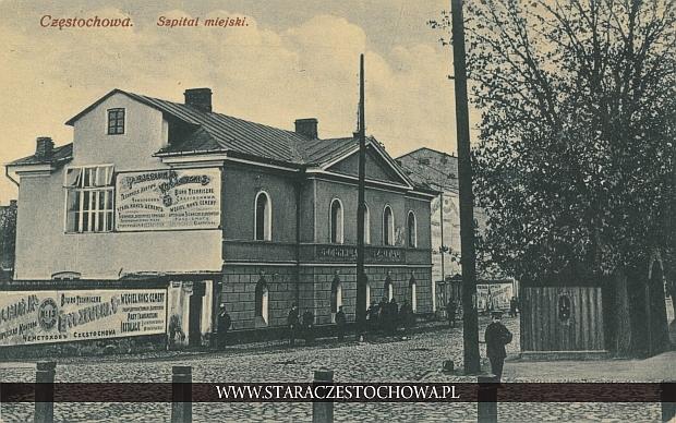 Częstochowa, szpital miejski