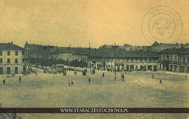 Plac Daszyńskiego w Częstochowie