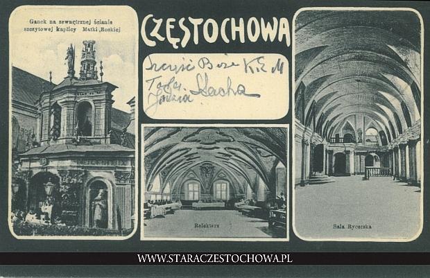 Częstochowa, obrazkowa, Jasna Góra, refektarz, sala rycerska