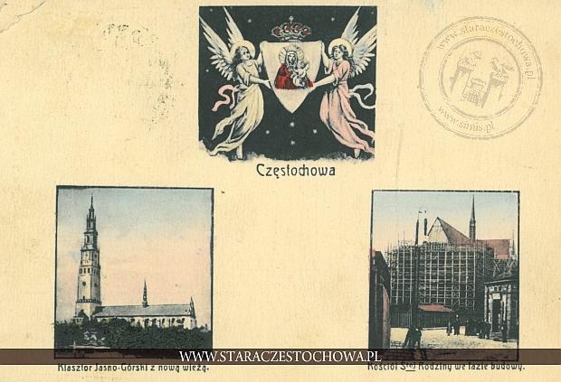 Częstochowa, obrazkowa, klasztor jasnogórski, kościół św. Rodziny