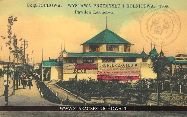Wystawa Przemysłu i Rolnictwa 1909, pawilon leśnictwa