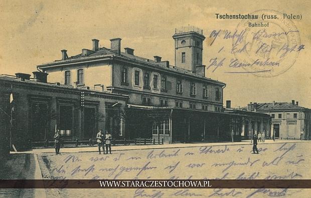 Dworzec kolejowy, Tschenstochau, Banhof
