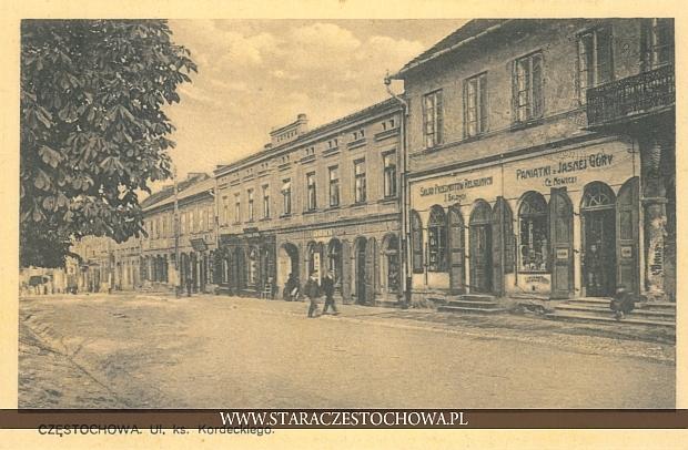 Ulica księdza Kordeckiego w Częstochowie