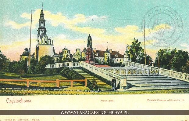 Pomnik Cesarza Aleksandra II, Jasna Góra, długi adres
