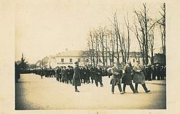 Defilada na placu Daszynskiego w Czestochowie, 1934