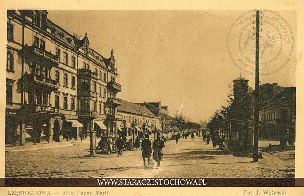 Aleja Najświętszej Maryi Panny, Częstochowa, Wołyński