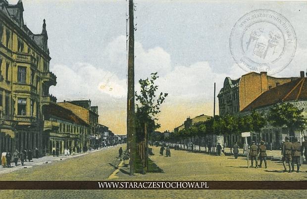 Aleja Najświętszej Maryi Panny, Częstochowa, Baumert