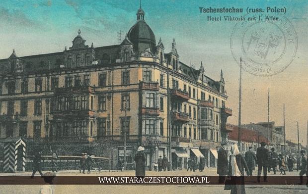 Hotel Viktoria, Dom Frankego przy al. NMP 14 w Częstochowie