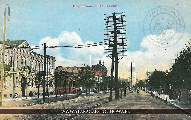 Ulica Teatralna, Aleja Wolności w Częstochowie, Baumert