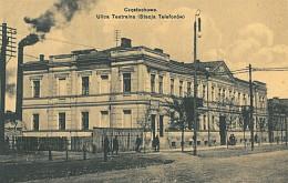 Ulica Teatralna, Stacja Telefonów, Częstochowa, Baumert