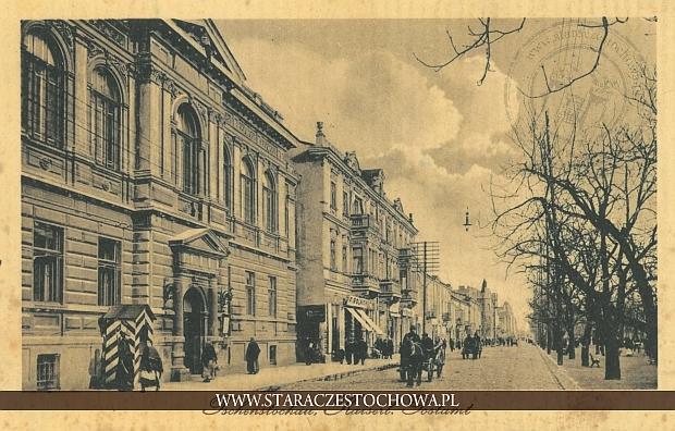 Poczta i Bank Polski w Częstochowie przy al. NMP