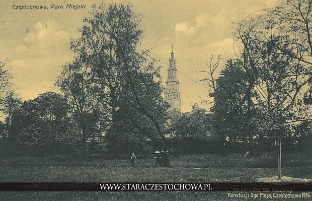 Park miejski, na pamiątkę 125 rocznicy Konstytucji 3-go maja, rzadka