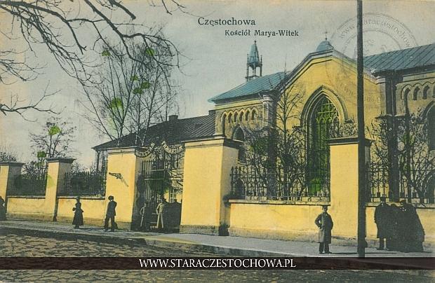 Kościół Marya-Witek, Zgromadzenie Sióstr w Częstochowie