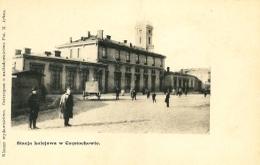Stacja kolejowa w Częstochowie