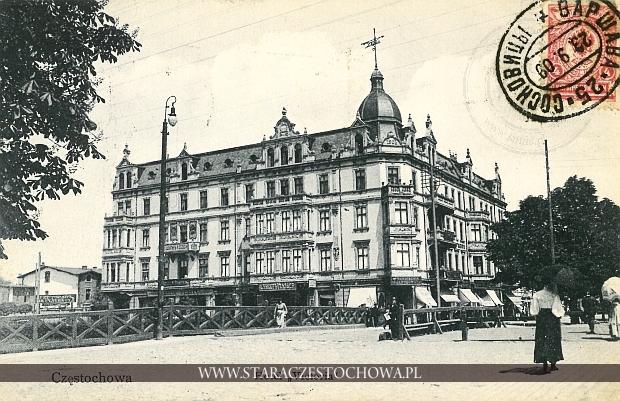 Hotel Victoria, dom Frankego w Częstochowie