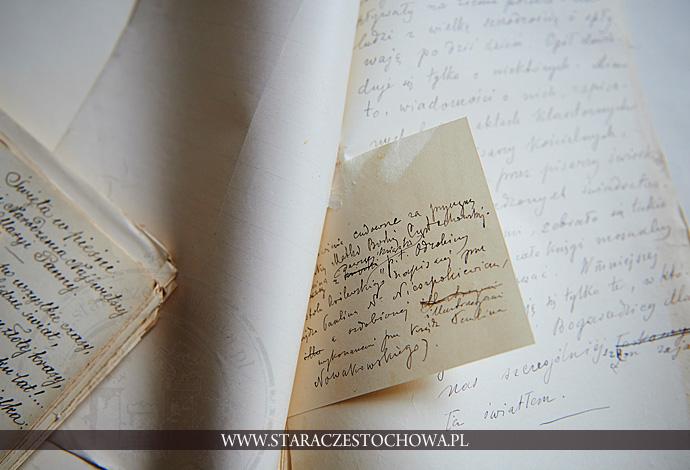 Rękopis Adamczyka, Fiszka z przypisem dot. cudów i łask