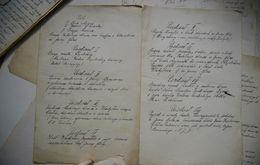 Rękopis Adamczyka, Spis treści