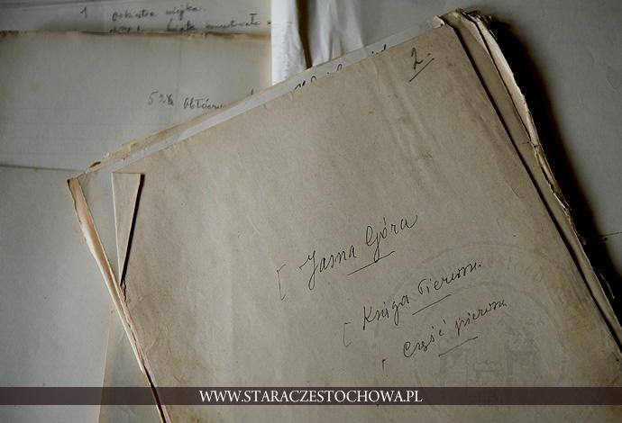 Rękopis Adamczyka, Dzieje Klasztoru Jasnogórskiego