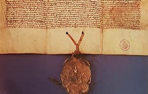 Dokument fundacyjny klasztoru