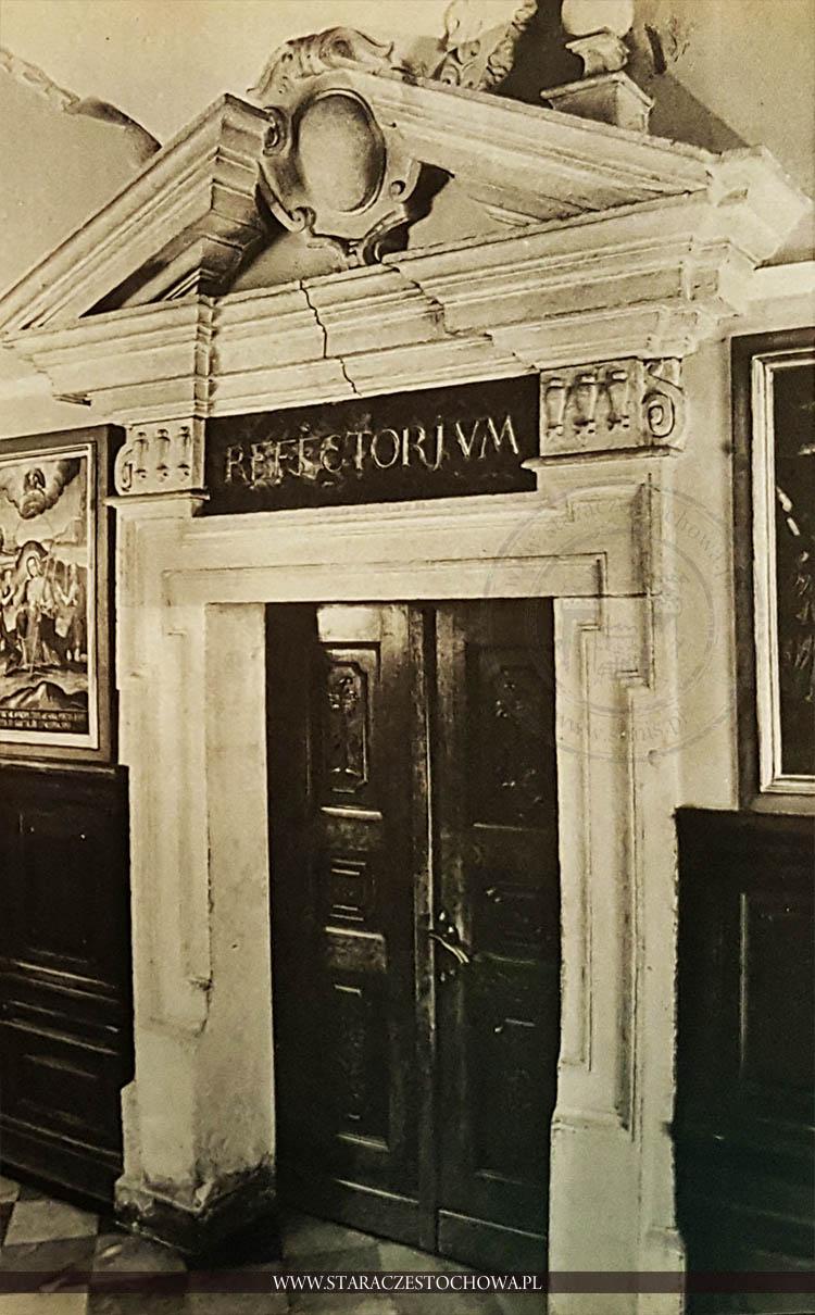 Portal refektarza na Jasnej Górze, refectorium
