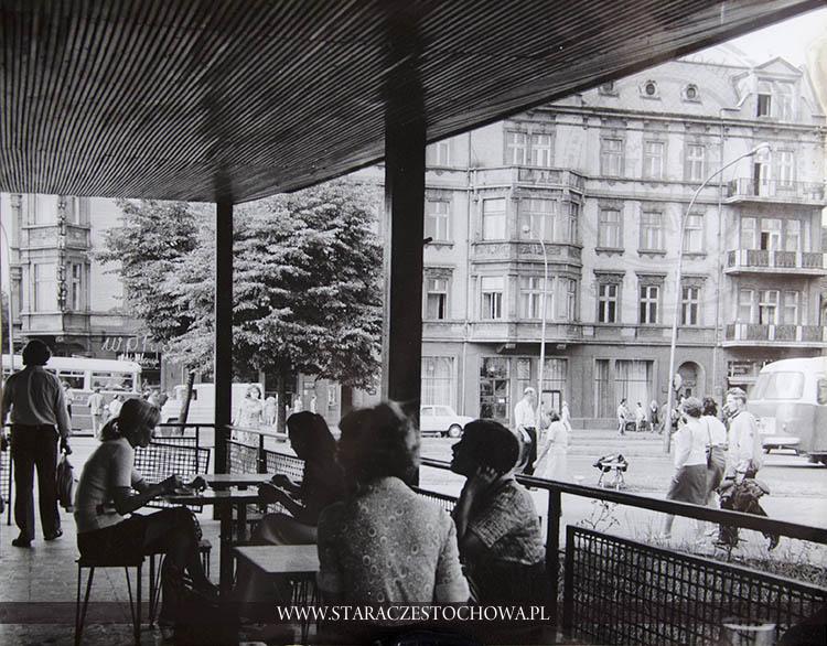 Centralny punkt i deptak Częstochowy